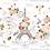 """Thumbnail: Marche Paris - 59 X 88cm (23x35"""") Portrait (Seamless Design)"""