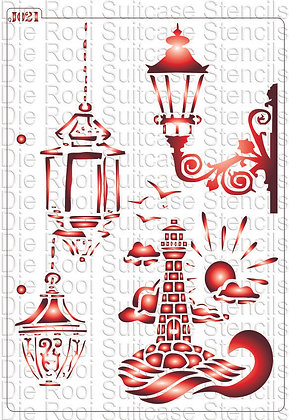 J021 Lanterns & Lighthouse