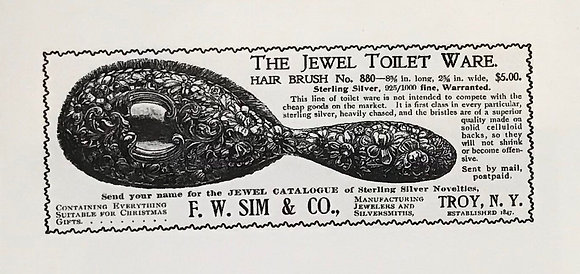 Jewel Toilet Ware 1896