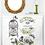 """Thumbnail: L'horloge - 89x59cm (35x23"""") Portrait (Cuttable Design)"""