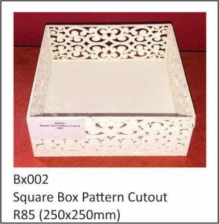Square Box Pattern Cutout