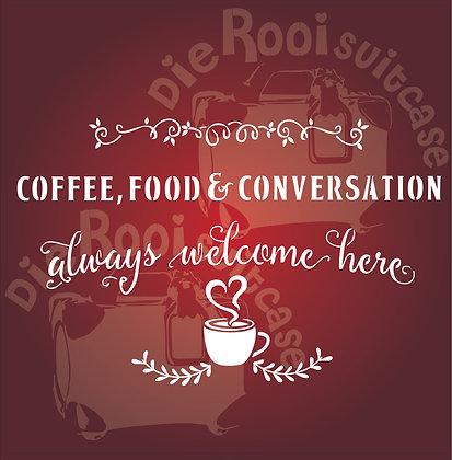 Food, Coffee & Conversation