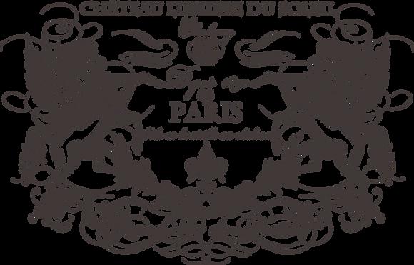 """Chateau Lumiere (Charcoal) - 86 X 55cm (34x22"""") Landscape (Solid Design)"""