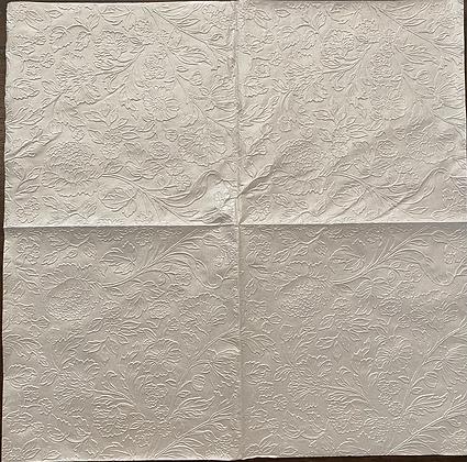 C022208 white embossed