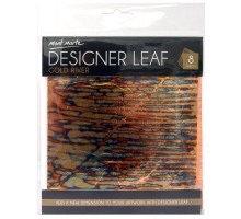 Copper designer leaf 8 pc