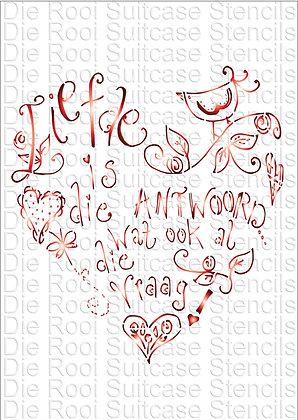 Liefde is die antwoord