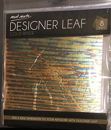 Gold River Designer leaf 8 pc