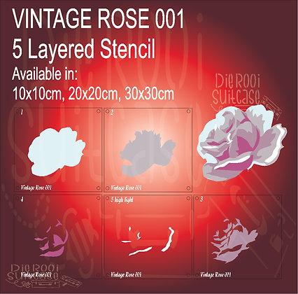 Vintage Rose 001