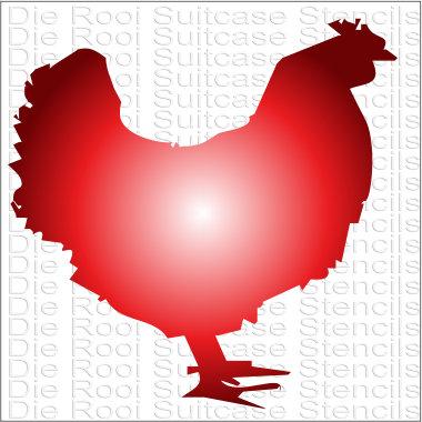 Chicken 10x10cm