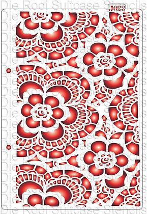 J023 Flower Lace