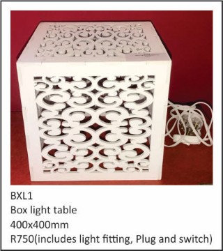 Box light 400x400mm