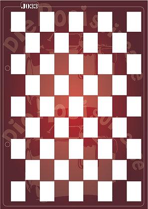 J033 Squares Journaling Stencil