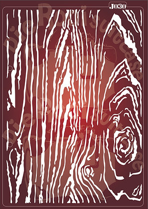 J030 Wood Pattern Journaling Stencil