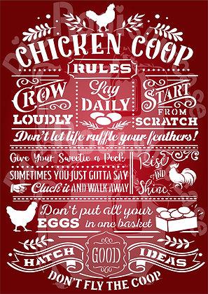 Chicken Coop Rules