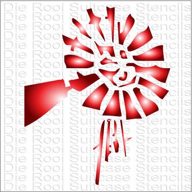 Windpomp 10x10cm