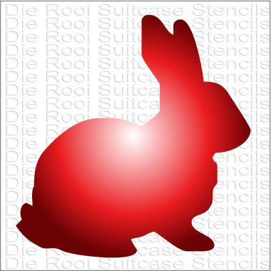 Rabbit 10x10cm