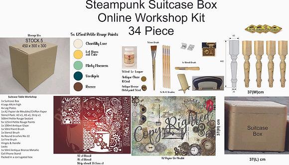 Steampunk Suitcase Box  Online Course