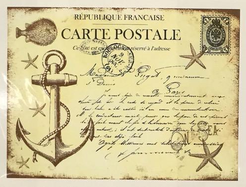 Carte Postale Francaise.Carte Postale Republic Francaise
