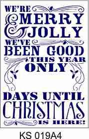 Merry & Jolly A4