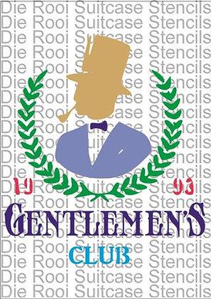Gentlemen's Club Wreath