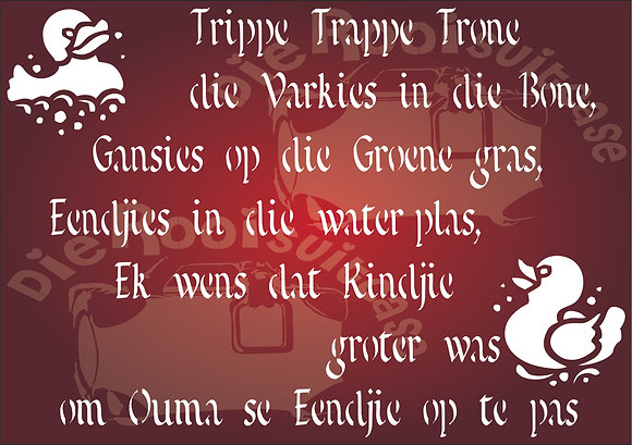 Kinder Rympies Trippe Trappe Trone