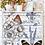 """Thumbnail: Papillon - 58x86cm (23x34"""") Portrait (Solid Design)"""