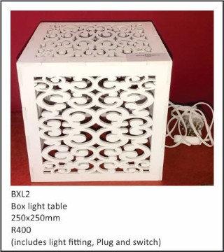 Box light 250x250mm