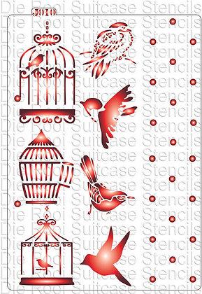 J010 Birdcages & Dots