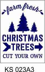 Farm Fresh Christmas Trees A3