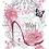 """Thumbnail: La Chaussure - 28x37cm (11x15"""") Portrait (Solid Design)"""