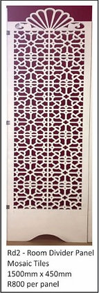 Mosaic Tiles 1500mm x 450mm per panel