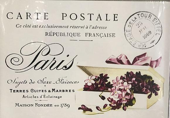 Carte Postale Violets