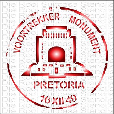 Voortrekker Monument 10x10cm