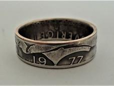 Ring van Zweedse kroon (voorbeeld) - €21,00