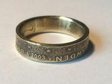 Ring van een munt van 50 eurocent - €21,00