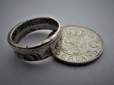 Ring van julianagulden (zilver) - €26,00