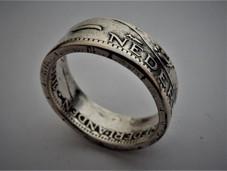 Ring van zilveren Julianagulden - €26,00