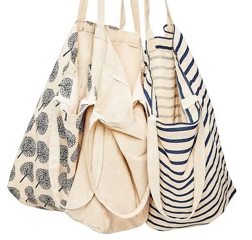 Tote Bags  - Pack of 3