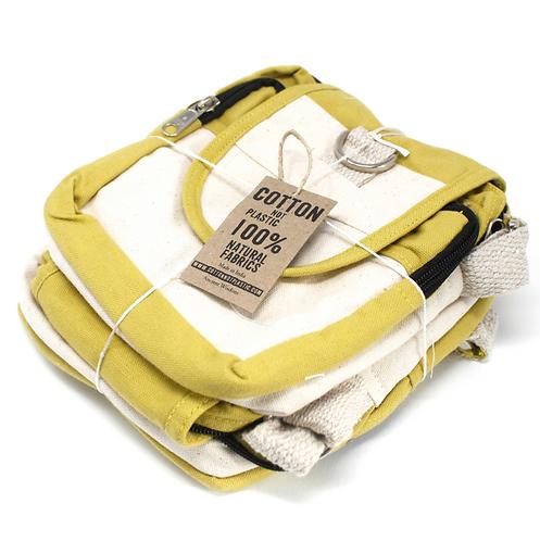 Natural Travel Bag Olive wrapped
