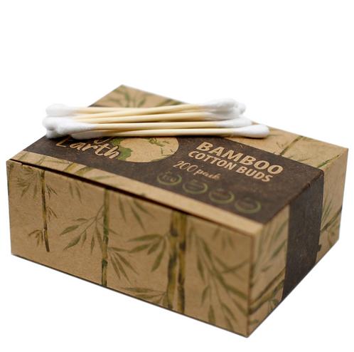 bamboo cotton buds box