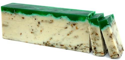 Green Tea - Olive Oil Soap Loaf