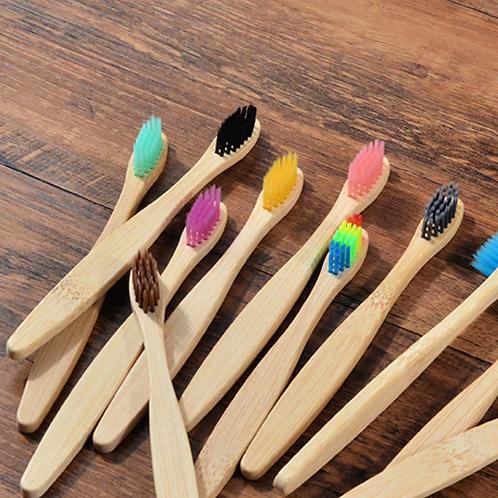 Bamboo Toothbrush - 10 Pack