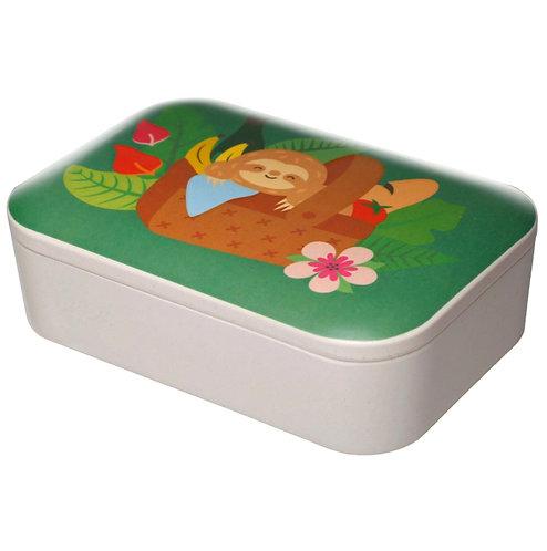 Bamboo Cute Sloth Lunch Box