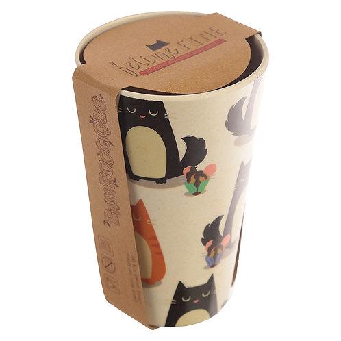 Bamboo Reusable Feline Fine Fat Cup