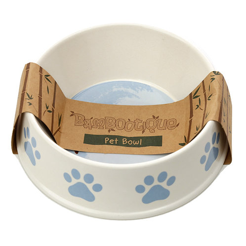 Bamboo Catch Patch Dog Bowl