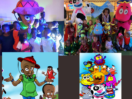 Creating Adorable characters for kids content_from Ghana to Namibia