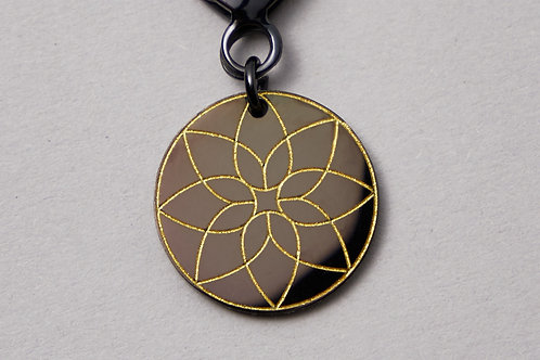 Bohemian Ornament Black & Gold
