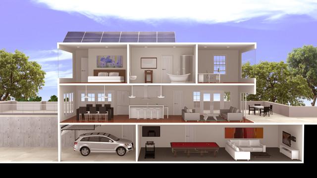 3D Interior+Exterior Project