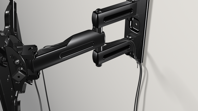 3D product's rendering as installation guide - Classic TV mount