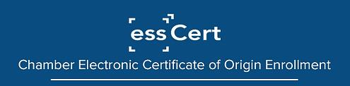 essCert exporter registration form heade